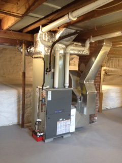 New furnace installed in Saint Paul