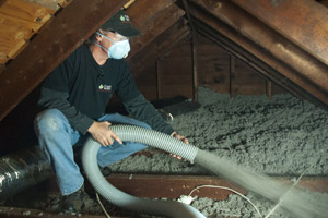 Cellulose Insulation Installation In St. Croix Valley