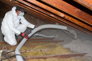 Blown-in Insulation in Chippewa Falls