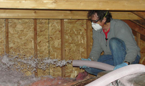 Fiberglass insulation installed Wisconsin and Minnesota